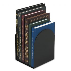 BOOKEND,MAGNETIC,7&quot;H,BK