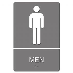 SIGN,WALL,ADA,MEN,GY