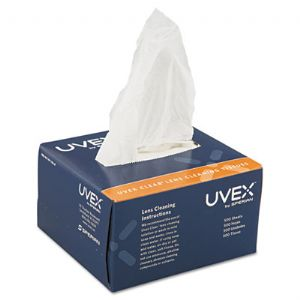 Uvex Clear� Lens Cleaning Tissues