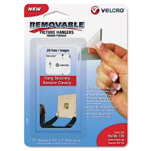 Velcro� Removable Light Duty Hook & Loop