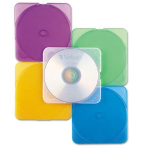 CASE,CD-ROM,TRIMPAK,10PK