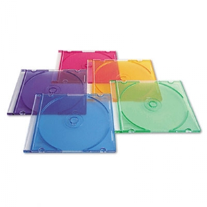 CASE,CD/DVD SLM CSE,50 PK