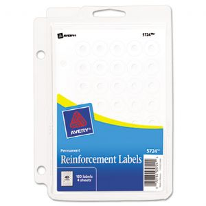 Avery® Binder Pack Hole Reinforcements
