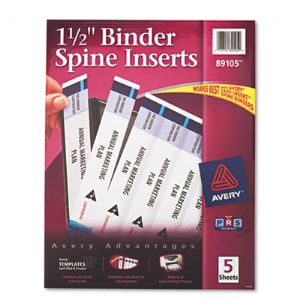 Avery� Custom Binder Spine Inserts