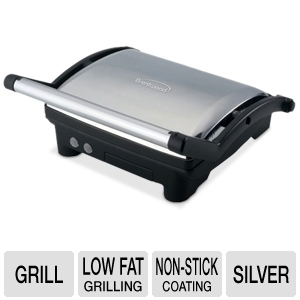 Brentwood TS-650 Stainless Steel Contact Grill