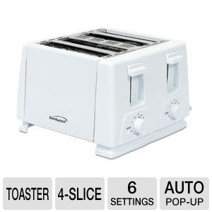 Brentwood TS-264 Four-Slice Toaster 