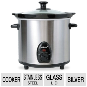 Brentwood SC-130S 3-Quart Slow Cooker
