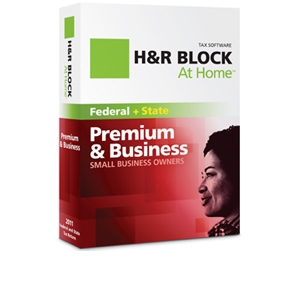 H&R Block At Home Premium & Business Tax Software