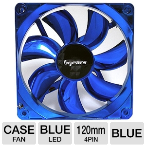Bgears Blue 120mm Blue LED Case Fan