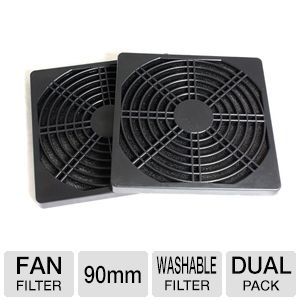 BGEARS 90mm Fan Filter With Washable Filter