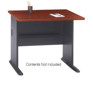 "Bush Hansen Cherry Series A 36""W Desk"