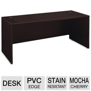 "Series C Mocha Cherry 72"" Desk"