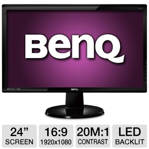 BenQ GW2450 24&quot; Class Widescreen LED Monitor
