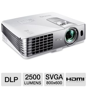BenQ SVGA Short Throw 3D DLP Projector