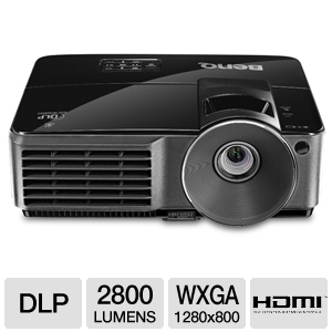 BenQ MW516 WXGA Multimedia DLP Projector