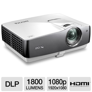 BenQ W1200 1080p HD Cinema DLP Projector