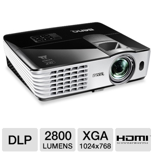 BenQ MX613ST XGA Short Throw 3D DLP Projector