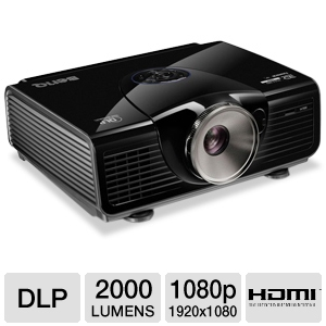 BENQ W7000 Full HD 1080p 3D DLP Projector