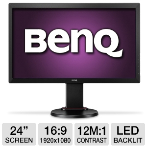 "BenQ RL2450HT 24"" Gaming Monitor, 2ms, HDMI"