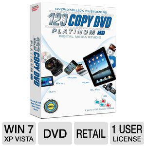 Bling 123 Copy DVD Platinum 2012 Software