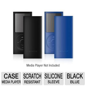 Belkin Simple Silicone Sleeve 2-pack for iPod nano