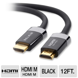 Belkin 12ft HDMI M/M Cable