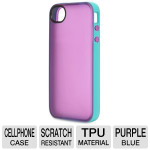 Belkin Grip Candy iPhone 4/4S Purple/Blue Case