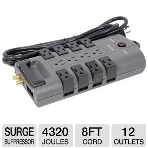 Belkin BP112230-08 12-Outlet Surge Suppressor