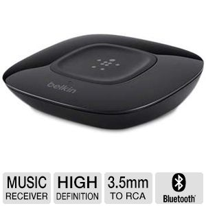 Belkin NFC Enabled HD Wireless Music Receiver