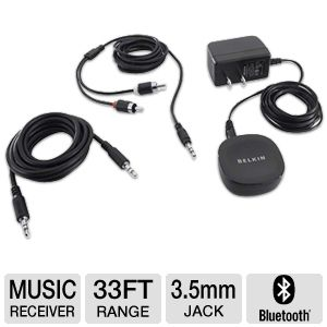 Belkin F8Z492ttP Bluetooth Music Receiver