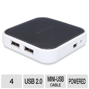 Belkin F4U020 Desktop 4Port USB 2.0 Hub