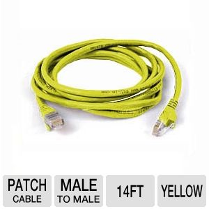 Belkin 14-Foot CaT6 Snagless Patch Cable