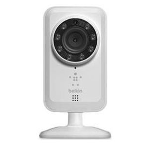 Belkin NetCam Wi-Fi Camera w/ Night Vision + Audio