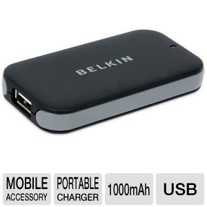 Belkin Power Pack 1000 Cell Phone Charger