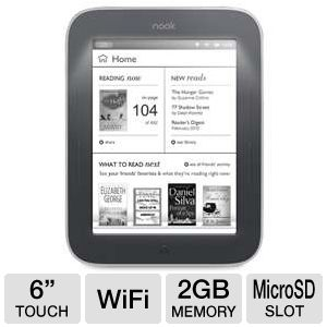 NOOK Simple Touch with GlowLight eReader