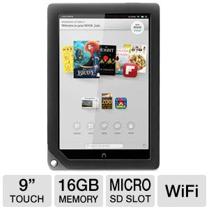 NOOK HD+ 9&quot; 16GB Tablet