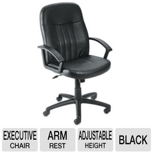 Boss Tall Back Leather Black Executive Chair