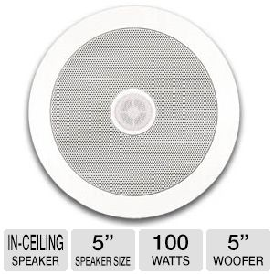 "5.25"" MURO CEILING SPEAKERS REFURB"