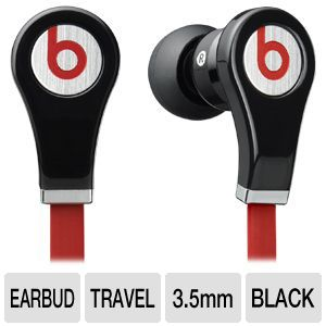 Beats by Dre Tour In-line Control Black Earbuds