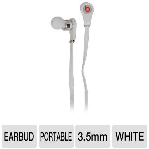 Beats by Dre Tour In-line Control White Earbuds