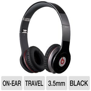 Beats by Dre Solo HD Black On-Ear Headphones