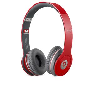 Beats by Dre Solo HD Red On-Ear Headphones
