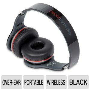 Beats by Dre Wireless Black Over-Ear Headphone