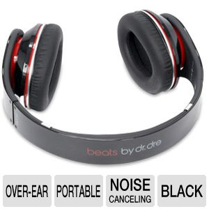 Beats by Dre Studio Black Over-Ear Headphone