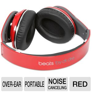 Beats by Dre Studio Red Over-Ear Headphone