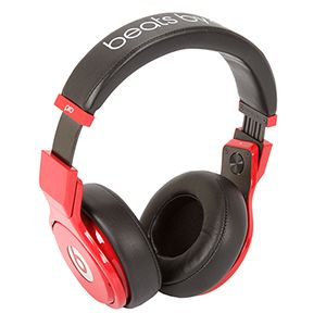 Beats Pro Over-Ear Red-Black Headphone