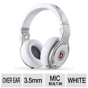 Beats by Dr. Dre PRO White On-ear Headset