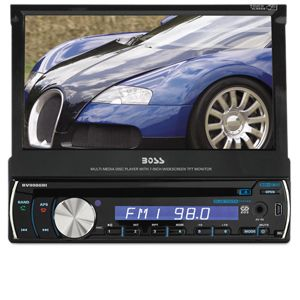 Boss Audio In-Dash 1-DIN Head Unit Car Stereo