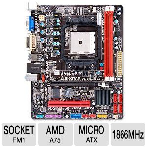 Biostar AMD A75 Motherboard