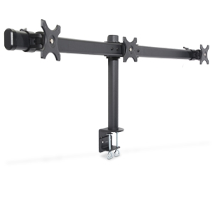 Inland 05328 Triple LCD Monitor/TV Desk Mount 